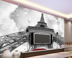 Peinture Moderne Pour Salon by Aliexpress Com Acheter Blanc Et Noir 3d Papier Peint Moderne Pour