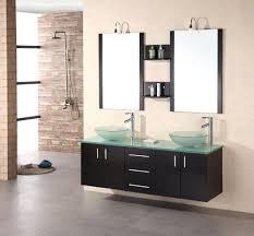 72 Inch Double Sink Bathroom Vanities Vanities Newport 60 Double Sink Bathroom Vanity Set With Mirror