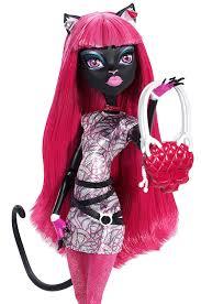 amazon com monster high bjm43 scaremester catty noir doll toys