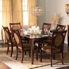Silver Dining Room Set by Steve Silver Montblanc 9 Piece Dining Set Walmart Com