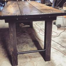 medieval furniture industrial dining table rustic by gatsbytimber