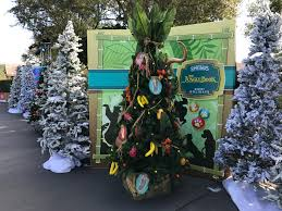 disney springs christmas tree trail a new holiday tradition