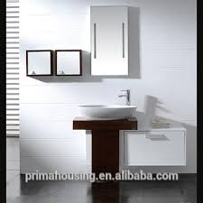 Metal Bathroom Vanity by High Gloss Uv Painted Full Aluminium Waterproof Vanity Uv Painted