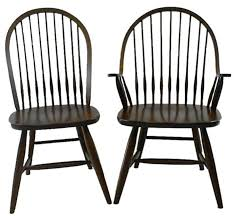 Windsor Dining Room Chairs Early American Windsor Chair Amish Made