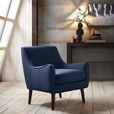 navy blue floor l contemporary navy blue accent chair with regard to chas velvet
