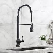 Farmhouse Faucet Kitchen by Dugite Single Hole Pull Down Kitchen Faucet With Spring Spout