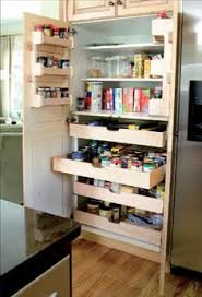 Pantry Cabinet With Pull Out Shelves by Roll Out Shelves And More Home Remodeling Pinterest Kitchen