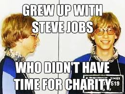 Bill Gates And Steve Jobs Meme - bill gates 2 0 friend of steve jobs and philanthropist