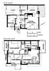 download schroder house autocad floor plan adhome