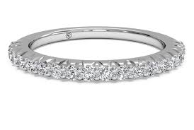 white gold wedding band women s set diamond wedding band in 14kt white gold 0 33