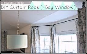 building glass door and diy curtain rods sliding glass door u0026 bay
