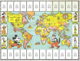 Disney World Maps Blue Sky Gis Maps In Comics Disney Themed Maps Two Fer