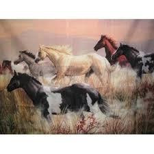 Horse Themed Bathroom Decor 9 Best Horse Shower Curtain Images On Pinterest Shower Curtains