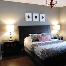 Red And Gray Bedroom Design Ideas - Bedroom gray paint ideas