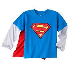 superman infant toddler boys sleeve cape t shirt target