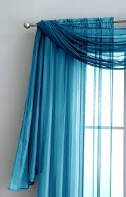 Sheer Teal Curtains Decorating Adorable Slate Blue Sheer Curtains Decor With Navy