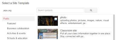 google sites research
