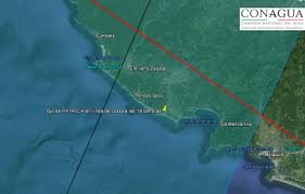 Map Of Ensenada Mexico by Video Hurricane Patricia Makes Landfall In Mexico Sandiegored Com