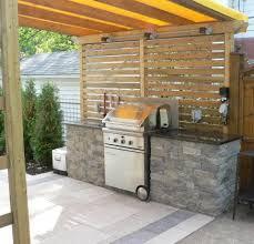 idee amenagement cuisine exterieure cuisine extérieure avec bbq du jardin dans ma vie
