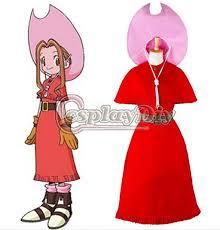 Digimon Halloween Costume Custom Anime Game Cosplay Anime Digimon Adventure Tachikawa