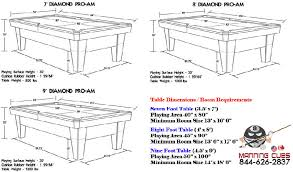 9 foot pool table dimensions 9 foot pool table dimensions table designs