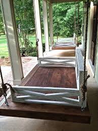 cushions hanging porch swing bed plans 58 inch bench cushion