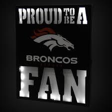 Denver Broncos Wall Art Home fice And School NFLShop