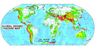 earthquake hazard map where is the greatest seismic hazard