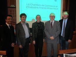 chambre de commerce franco britannique réunion de travail à la cci de pau autour de la chambre franco