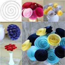 Paper Flower How To Make Easy Paper Flowers Step By Step Step By Step Ideas