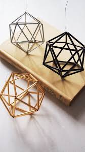 geometric home decor 24 ways to add some geometry to your home decor ornament craft