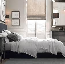 Duvet Covers Restoration Hardware Garment Dyed Textured Linen Duvet Cover Home Bedroom