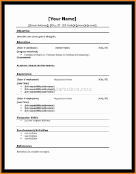 College Admissions Resume Samples by Resume For Dummies Art Resume Examples