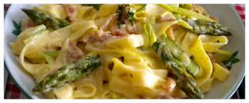 cuisiner asperges vertes fraiches toutes nos recettes tagliatelles aux asperges vertes et jambon de pays