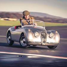 jaguar car the u0027s jaguar xk120 mini roadster hammacher schlemmer