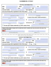 Alabama General Power Of Attorney by Free Mobile County Alabama Bill Of Sale Form Pdf Word Doc