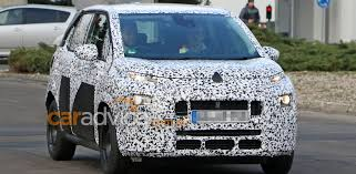 citroen c3 picasso spy photos