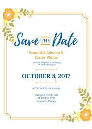 Save The Date Wedding Invitations Save The Date Invitation Templates Canva