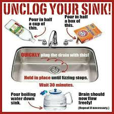 how to unclog my sink 35 best drain unclogging images on pinterest cleaning hacks