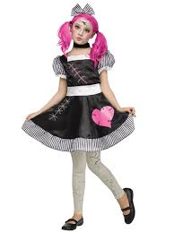 halloween dolly child broken doll costume 124072 fancy dress ball