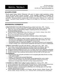 Commercial Manager Resume Manager Resume