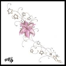 tribal flower n star tattoo designs all tattoos for men