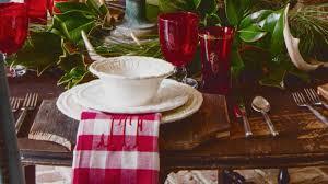 setting a christmas table with james farmer southern living