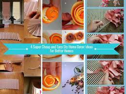 unique diy home decor retro 4 cheap and easy diy home decor ideas for better homes