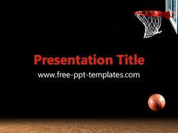 basketball ppt template