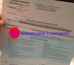 Authorization Letter Claim Passport Dfa Dfa Authentication Of Documents Requirements Dfa San Fernando