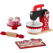 Kidkraft Kitchen Red - deluxe minnie mouse baking set treats red by kidkraft walmart com