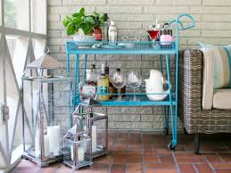 Refinishing Wrought Iron Patio Furniture by How To Paint Metal Furniture Hgtv