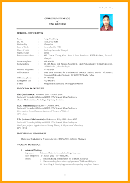 Resume Sle Doc Malaysia free best resume sle malaysia best resume template malaysia