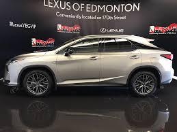 lexus sport 2017 pre owned 2017 lexus rx 350 demo unit f sport series 2 4 door